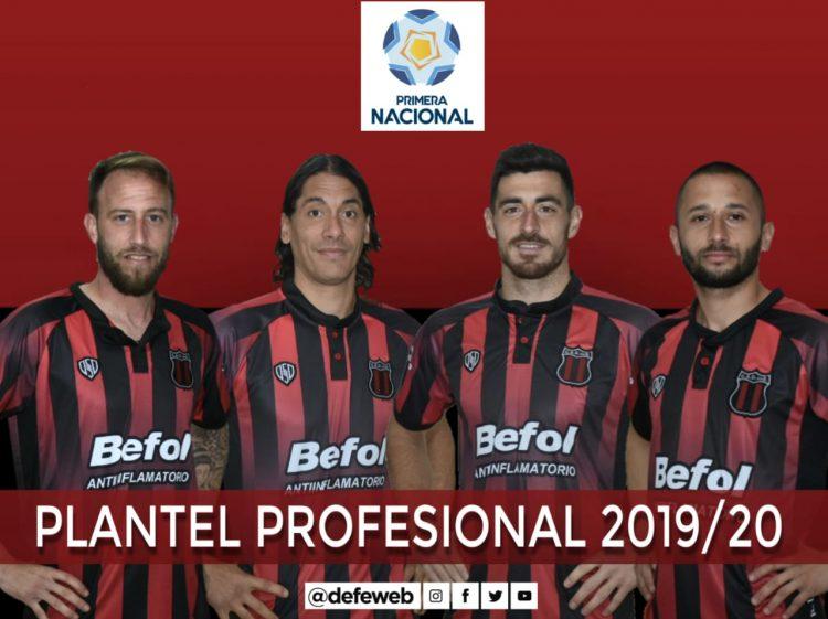 Plantel profesional 2019/20