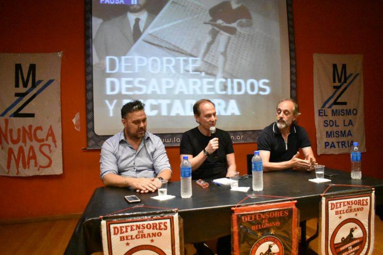Deportes, Desparecidos y Dictadura
