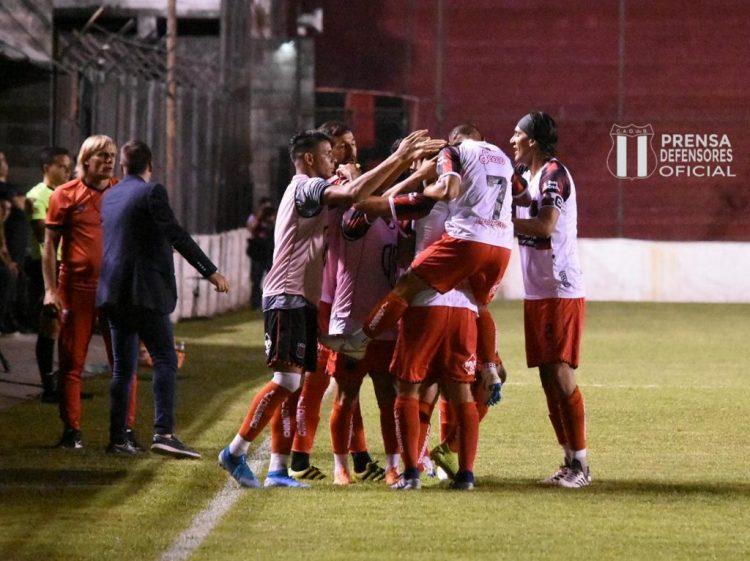 Defe 1 - Santamarina 0: Fecha 21 - 2020